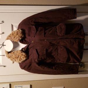 Brown H & M coat